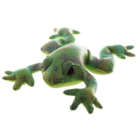 Frog Sand Animal Collectable Weighted Soft Toy Puckator (1 Supplied)
